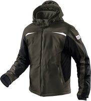 KÜBLER-Workwear-Weather-Dress-Softshell-Arbeits-Berufs-Jacke, oliv/schwarz