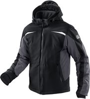 KÜBLER-Workwear-Weather-Dress, Winter-Softshell-Arbeits-Berufs-Jacke, schwarz/anthrazit