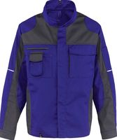 KÜBLER-Workwear-Arbeits-Berufs-Bund-Jacke Image Vision Dress, MG 295, kornblau/anthrazit
