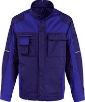 KÜBLER-Workwear-Arbeits-Berufs-Bund-Jacke Image Vision Dress, MG 295, marine/kornblau