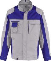 KÜBLER-Workwear-Arbeits-Berufs-Bund-Jacke Image Vision Dress, MG 295, hellgrau/kornblau