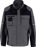 KÜBLER-Workwear-Arbeits-Berufs-Bund-Jacke Image Vision Dress, MG 295, anthrazit/schwarz