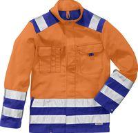 KÜBLER-Workwear-Warn-Schutz-Arbeits-Berufs-Jacke, H-Vis.Inno Plus, MG 270, warnorange/kornb
