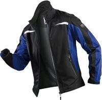 KÜBLER-Workwear-Weather-Dress, Winter-Ultrashell-Arbeits-Berufs-Jacke, schwarz/kornblau