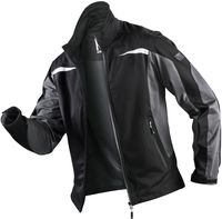 KÜBLER-Workwear-Weather-Dress, Winter-Ultrashell-Arbeits-Berufs-Jacke, schwarz/anthrazit