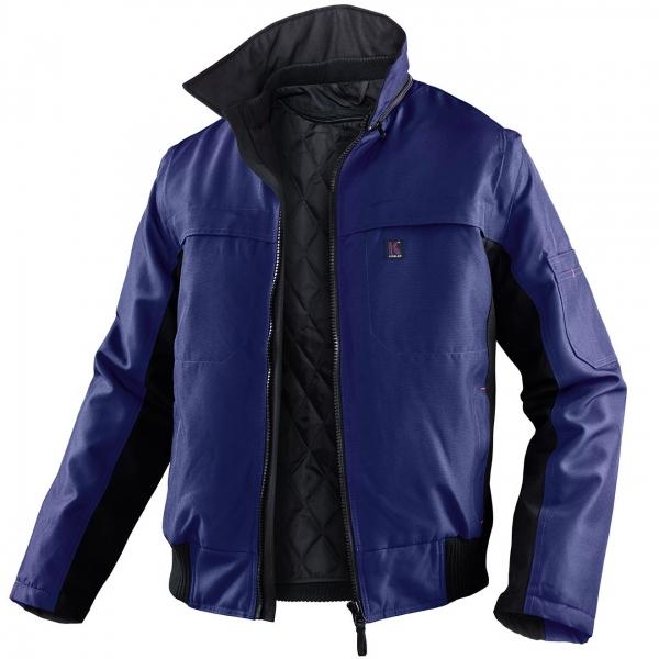 KÜBLER-Workwear-Winter-Piloten-Arbeits-Berufs-Jacke, Wetter Dress Inno Plus, marine/schwarz