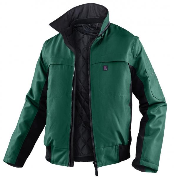 KÜBLER-Workwear-Winter-Piloten-Arbeits-Berufs-Jacke, Wetter Dress Inno Plus, moosgrün/schwarz