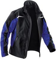 KÜBLER-Workwear-Weather-Dress, Winter-Softshell-Arbeits-Berufs-Jacke, schwarz/kornblau