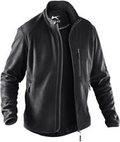 KÜBLER-Workwear-Weather-Fleece-Arbeits-Berufs-Jacke, ca. 245g/m², schwarz