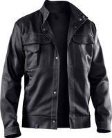 KÜBLER-Workwear-Arbeits-Berufs-Bund-Jacke, Organiq, BW330, schwarz