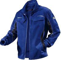 KÜBLER-Workwear-Arbeits-Berufs-Bund-Jacke, Pulsschlag, MG260, kornblau/schwarz
