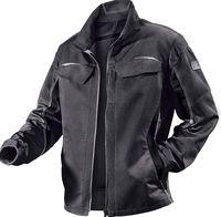 KÜBLER-Workwear-Arbeits-Berufs-Bund-Jacke, Pulsschlag, MG260, anthrazit/schwarz