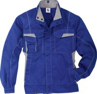 KÜBLER-Workwear-Arbeits-Berufs-Bund-Jacke, MG 320, kornblau/mittel
