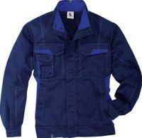 KÜBLER-Workwear-Arbeits-Berufs-Bund-Jacke, MG 320, dunkelblau/korn