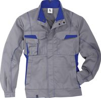 KÜBLER-Workwear-Arbeits-Berufs-Bund-Jacke, MG 320, mittelgrau/korn