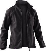 KÜBLER-Workwear-Winter-Arbeits-Berufs-Jacke, Softshell Dress, schwarz