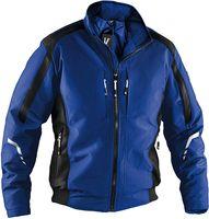 KÜBLER-Workwear-Weather Dress, Wetter-Winter-Arbeits-Berufs-Jacke, Blouson, kornblau/schwarz