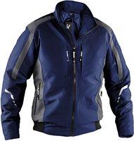 KÜBLER-Workwear-Weather Dress, Wetter-Winter-Arbeits-Berufs-Jacke, Blouson, dunkelblau/anthrazit