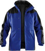 KÜBLER-Workwear-Doppel-Arbeits-Berufs-Jacke, Wetter-Regen-Nässe-Schutz, Dress Inno Plus, kornblau/schwarz