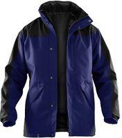 KÜBLER-Workwear-Doppel-Arbeits-Berufs-Jacke, Wetter-Dress Regen-Nässe-Schutz, Inno Plus, marine/schwarz