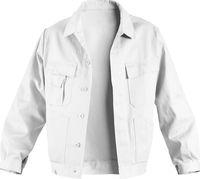 KÜBLER-Workwear-Arbeits-Berufs-Bund-Jacke, Quality Dress, BW 285, weiß-gebleicht