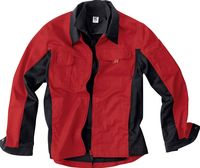 KÜBLER-Workwear-Arbeits-Berufs-Bund-Jacke Inno Plus Dress, MG 300, mittelrot/schwarz