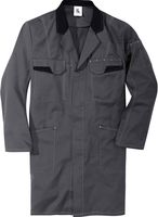 KÜBLER-Workwear-Berufs-Mantel, Arbeits-Kittel, MG 240, anthrazit/schwarz