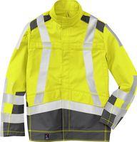 KÜBLER-Workwear-Schweißer-Arbeits-Schutz-Berufs-Jacke, Safety X7, MG320, kornblau/a