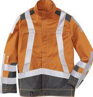 KÜBLER-Workwear-Schweißer-Arbeits-Schutz-Berufs-Jacke, Safety X7, MG320, warnorange/