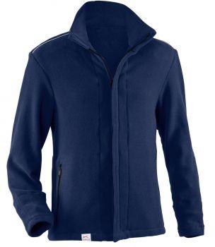 KÜBLER-Workwear-PSA-Safety-X8-Fleece-Arbeits-Berufs-Jacke, ca. 360g/m², dunkelblau