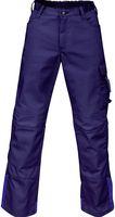 KÜBLER-Workwear-Arbeits-Berufs-Bund-Hose, Image Vision Dress, MG 295, marine/kornblau