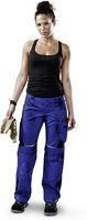 KÜBLER-Workwear-Damen-Arbeits-Berufs-Bund-Hose, Pulsschlag, High, MG 260, kornblau/schwarz