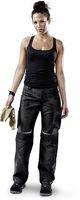 KÜBLER--Workwear-Damen-Arbeits-Berufs-Bund-Hose, Pulsschlag, High, MG 260, schwarz/anthrazit