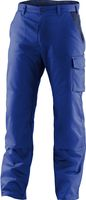 KÜBLER--Workwear-Arbeits-Berufs-Bund-Hose, Identiq mix, MG 245, kornblau/dunkelblau