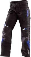 KÜBLER-Workwear-Kinderhose, MG260, schwarz/kornblau