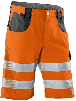 KÜBLER-Workwear-REFLECTIQ Warn-Schutz-Shorts, warnorange / anthrazit