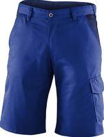 KÜBLER-Workwear-Bermuda-Arbeits-Berufs-Shorts, Identiq mix, 245 g/m², kornblau/dunkelblau300 g/m²,