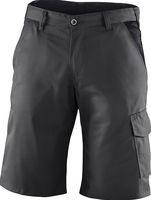 KÜBLER-Workwear-Bermuda-Arbeits-Berufs-Shorts, Identiq mix, 245 g/m², anthrazit/schwarz