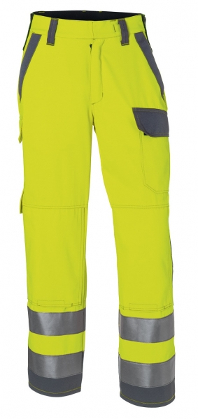 KÜBLER-Bundhose arc1, Protectiq High Vis, ca. 260g/m², warngelb/anthrazit