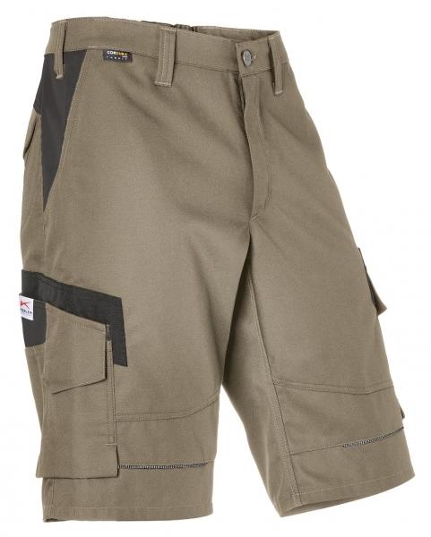 KÜBLER-Shorts, Innovatiq, 295 g/m², sandbraun/schwarz