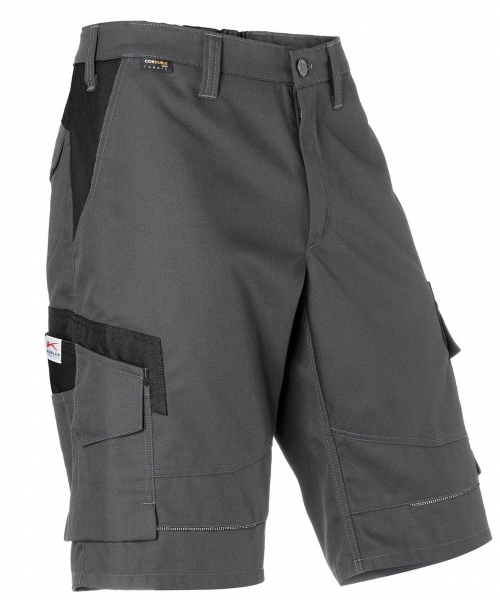 KÜBLER-Shorts, Innovatiq, 295 g/m², anthrazit/schwarz