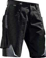 KÜBLER-Workwear-Bermuda-Arbeits-Berufs-Shorts, Pulsschlag, ca. 260g/m², schwarz/anthrazit