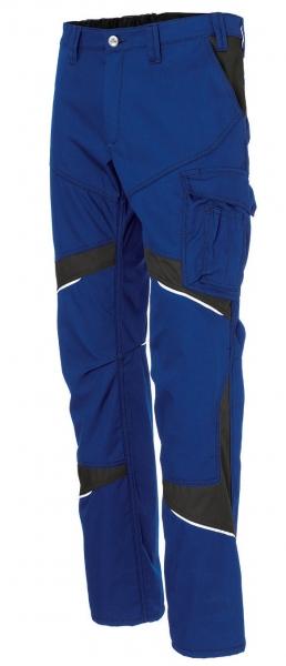 KÜBLER-Activiq-Cotton+-Damenbundhose, ca. 305g/m², kbl.-blau/schwarz