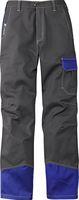 KÜBLER-Workwear-Schweißer-Arbeits-Schutz-Berufs-Bund-Hose, Safety X6, MG350, anthrazit/kornblau