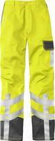 KÜBLER-Workwear-Schweißer-Arbeits-Schutz-Berufs-Bund-Hose, Safety X7, MG320, warngelb/anthrazit