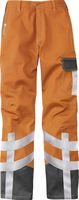 KÜBLER-Workwear-Schweißer-Arbeits-Schutz-Berufs-Bund-Hose, Safety X7, MG320, warnorange/anthraz