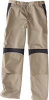 KÜBLER-Workwear-Arbeits-Berufs-Bund-Hose Inno Plus Dress, MG 300, sandbraun/schwarz