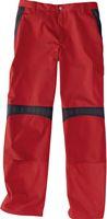 KÜBLER-Workwear-Arbeits-Berufs-Bund-Hose, Inno Plus Dress, MG 300, mittelrot/schwarz