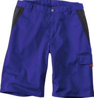 KÜBLER-Workwear-Bermuda-Arbeits-Berufs-Shorts, Inno Plus Dress, ca. 300 g/m²kornblau/schwarz
