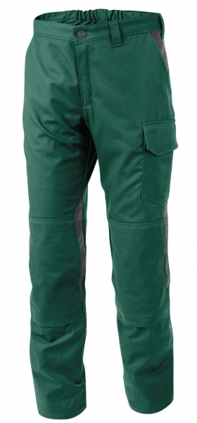 KÜBLER-Vita cotton+ Bundhose, ca. 305g/m², moosgrün/anthrazit